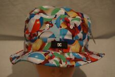 DC SHOES Liddy Cock & Balls Rooster Beach Balls Bucket Hat Small Medium NWT