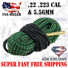 Boresnake .22 .223 5.56 Gun Rifle Cleaner Bore Snake Cleaning Kit