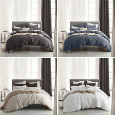 Private Collection Linen Blend Patternless Quilt Covers