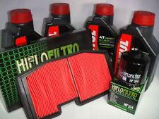 KIT TAGLIANDO 4L OLIO 5100 +FILTRO ARIA/OLIO TRIUMPH STREET TRIPLE 675 2011 2012