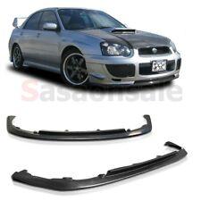 Fit for 2004-2005 Subaru Impreza WRX STI JDM CS1 S203 Front PU Bumper add-on Lip