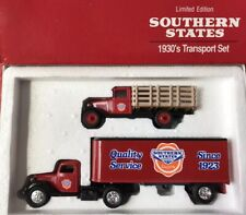 SOUTHERN STATES Limited Edition 1930's TRANSPORT SET 1/43 DIE-CAST ~ Ertl