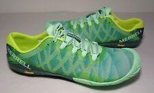 Merrell Size 8.5 M VAPOR GLOVE 3 Green Sneakers New Women's Shoes