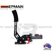 Hydraulic Drift E-Brake Racing Handbrake Vertical Horizontal Aluminium Billet
