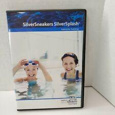 SILVER SNEAKERS Fitness Program SILVER SPLASH Instructor Training DVD Water Pool