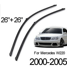 XUKEY 2PCS Front Wiper Blades For Mercedes-Benz S-Class W220 2000-2005 03 04