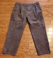 Woolrich Mens Corduroy Green Pants  Loden 42 X 32 Cotton 34-8