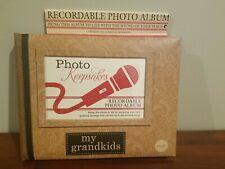 NEW Recordable keepsake Photo Albulm My Grandkids