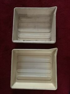 2 Very Large Vintage Johnsons Of Hendon Photographic Darkroom Trays