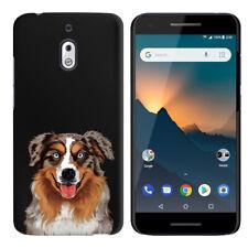 """For Nokia 2V / 2.1 5.5"""" Dog Design HARD Protector Back Case Phone Cover"""