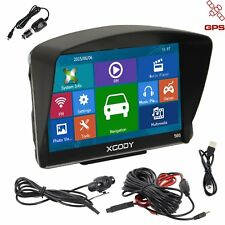 XGODY 5'' GPS Car Navigation Unit Bluetooth 8GB 128MB with Wired Reverse Camera