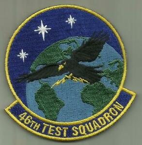 46TH TEST SQ USAF PATCH EGLIN AFB FLORIDA TEST WEAPONS BOMBS ROCKETS MISSILES