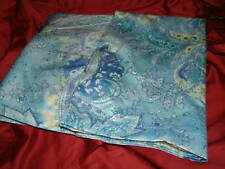 RALPH LAUREN JAMAICA PAISLEY BLUE SATEEN STANDARD  PILLOWCASES