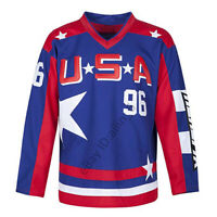 Charlie Conway #96 Team USA Men's Hockey Jersey Movie Hockey Jersey Stitched