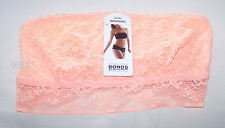 Bonds Ladies Tropicool Peach Lace Lacies Bandeau Boob Tube Size 8 New