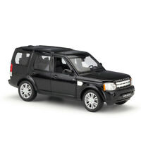 Welly 1:24 Land Rover Discovery 4 Black Diecast Model Car Vehicle New in Box