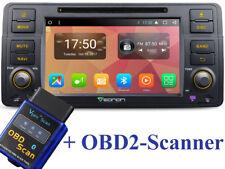 Autoradio+OBD2 8xCORE 2GB 32GB BMW E46 3er ANDROID 7.1 Bluetooth Navi Wifi DAB+