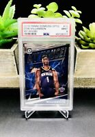 2019-20 Donruss Optic ZION WILLIAMSON My House PSA 9 #15 ROOKIE RC Pelicans 📈🔥