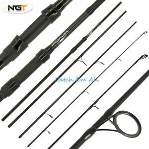 Carp Fishing Travel Rod 11ft 3.3M 2.75 TC 4pc Piece Carbon NGT Profiler