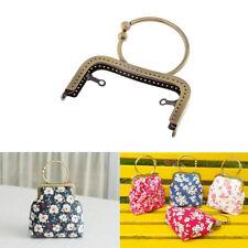 Vintage Taschenverschluss Taschengriff Clip Taschenbügel Beutel Verschluss mit