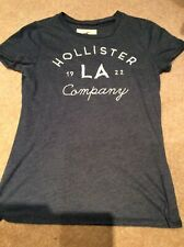 women's Abercrombie and Fitch Navy T Shirt Size Medium