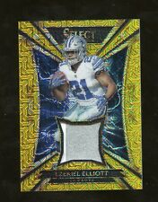 2016 Select Sparks Gold Ezekiel Elliott Cowboys RC Rookie Patch 2/10