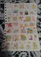 Lilly Pulitzer One Sheet of Stickers NEW!
