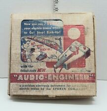 AUDIO-ENGINEER GENERAL ELECTRIC O/S SCALE AUDIO TRAIN COMMAND  LOT #SS-5 VINTAGE