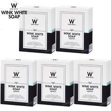 Nuevo Jabón Gluta Wink White L-Glutatión Blanqueamiento de la Piel Facial Cuerpo Limpiador 80g
