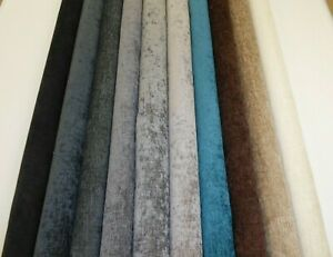 STYLISH CHENILLE - Upholstery & Curtain Fabric (11 Colours)