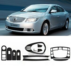 Carbon Gear Fascia Switch Wheel Vent Decalfor 10 - 13 Chevrolet Lacrosse Alpheon