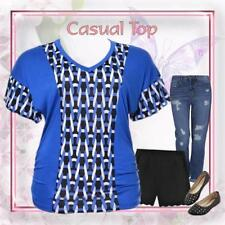 Women's Career Geometric Tops & Blouses