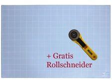 A1 - 90 x 60 cm Schneidematte + Gratis Rollschneider   Schneideunterlage