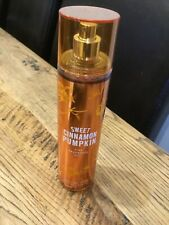 Bath and Body Works SWEET CINNAMON PUMPKIN Fine Fragrance Body Mist Spray 236 ml