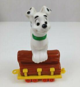 2000 McDonalds/Disney 102 Dalmatians #100: Log Train Car Toy