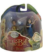 Disney 2010 Fairies Tinker Bell And The Lost Treasure Mini figurine Set New