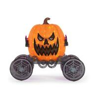 72 in. Halloween Lighted Pumpkin on Carriage ( Local Pick up Only)