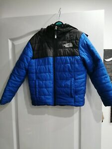 Boys The North Face Reversable Black School Jacket Size Xs