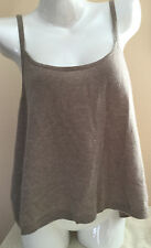 $88 NWT Victorias Secret Supermodel Essentials 100% Cashmere Cami Tank Sweater M