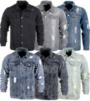 Loyalty & Faith Men's Ripped Distressed Denim Jean Jackets, BNWT