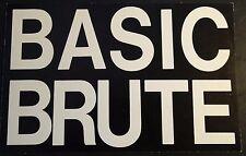"VINTAGE ALOUETTE BRUTE SNOWMOBILE SALES BROCHURE 8 1/2"" X 5 1/2"" 4 PG   (791)"