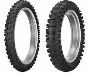 DUNLOP GEOMAX MX33 OFF-ROAD 80/100-21 & 100/90-19 DIRT TIRE SET KTM 125 250 350