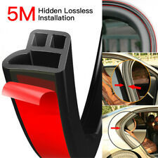 5M L-Shape Auto Car Door Trunk Seal Strip Rubber Weather Strip Edge Accessories