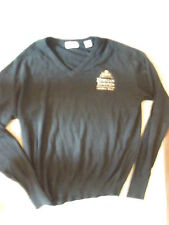 Herman Joseph'S Genuine Draft Beer Medium Black Long-Sleeve Cashmere Sweater