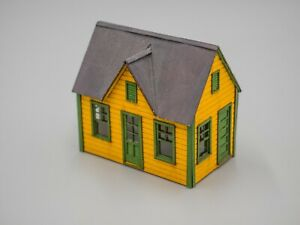 Small Trackside Office - 'Laser Cut' HO Scale  (Built)