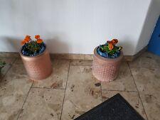 Kupferlegierte Schleudertrommel , Trommel, Pflanztopf, Blumentopf