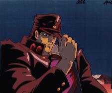 Jojo's Bizarre Adventure Anime Cel Douga Animation Art Iggy Fools Jotaro 1993
