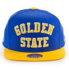 Golden St. Warriors NBA MItchell & Ness Wordmark Snapback Hat Cap