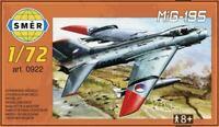 MiG-19 S (CZECHOSLOVAK, BULGARIAN, GERMAN & SOVIET AF MKGS) 1/72 SMER