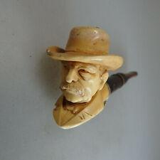 Pfeife mit figürlichen Pfeifenkopf Otto von Bismark um 1890 (57020)